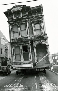 Victorian being moved