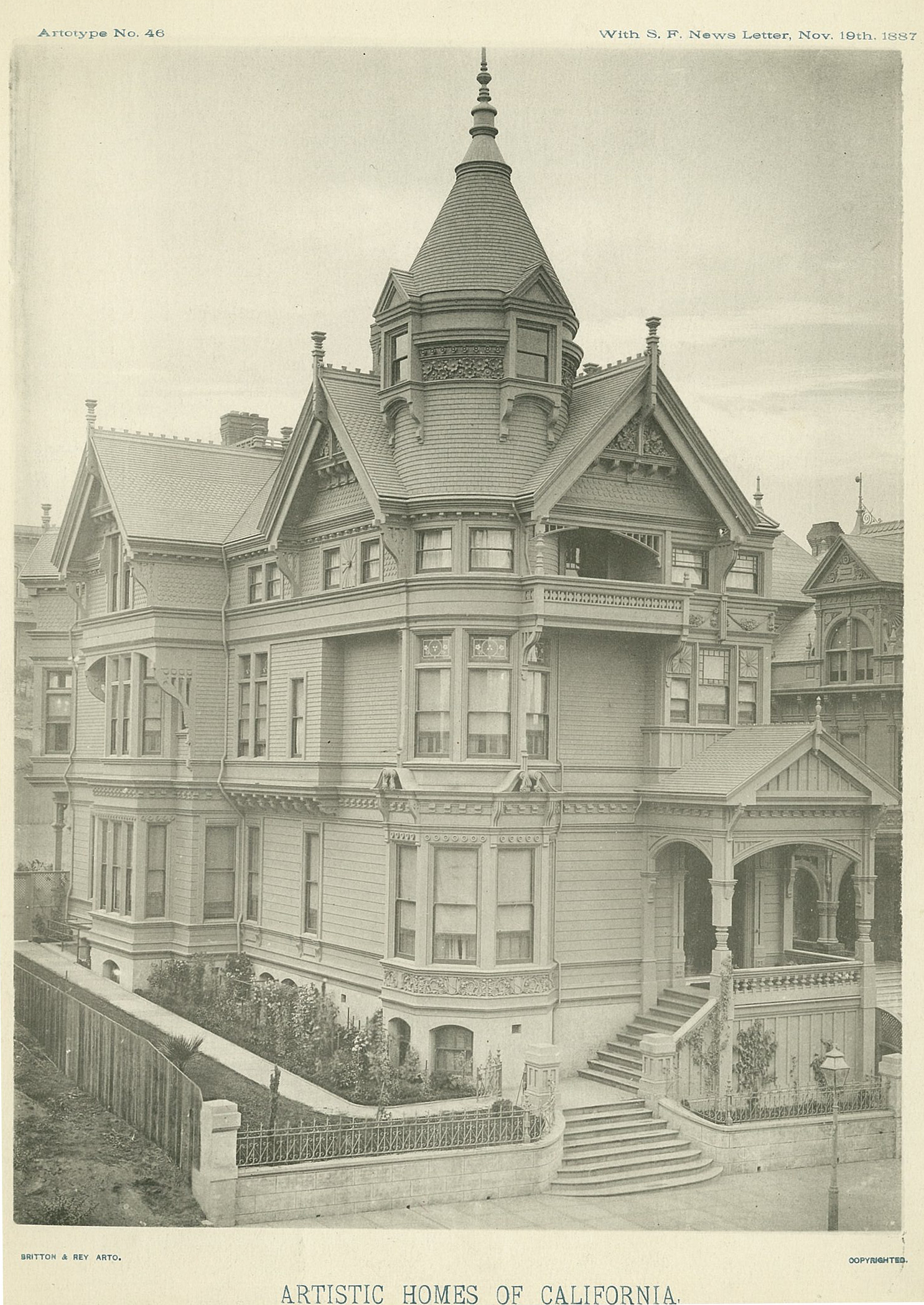 The Haas Lilienthal House San Francisco Heritage