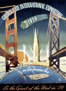 SF World's Fair, 1939 Poster
