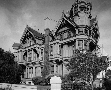 The haas lilienthal house san francisco heritage for San francisco victorian houses history