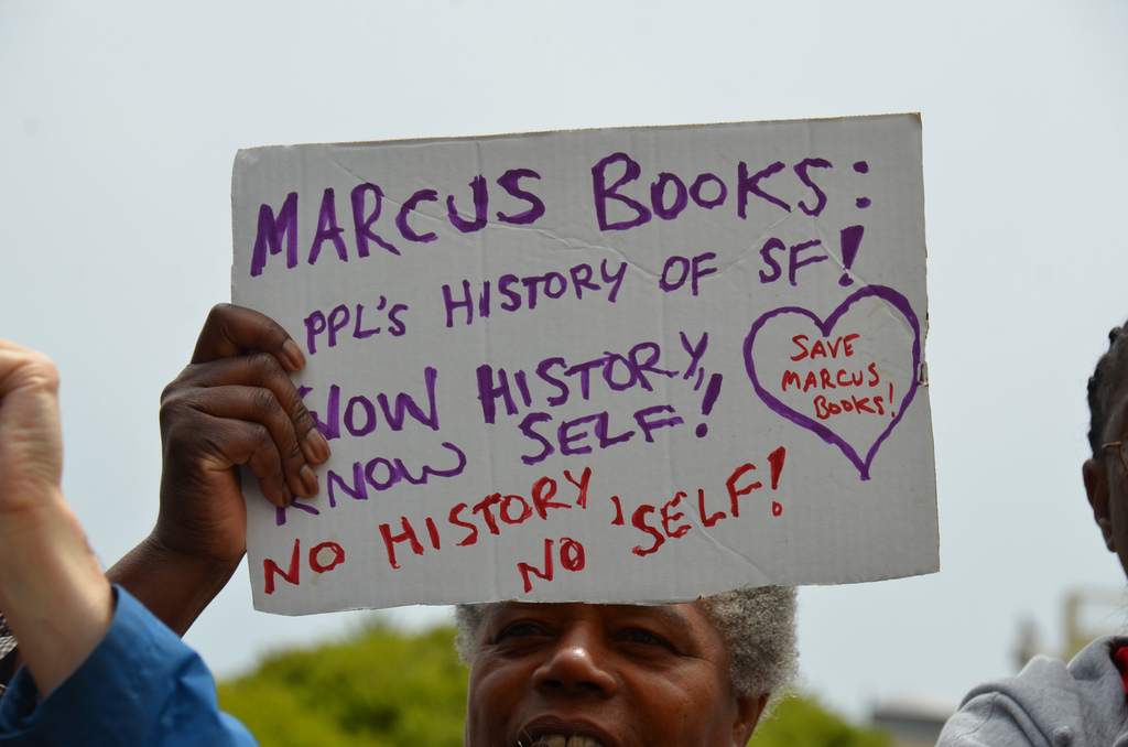 Save Marcus Books (Steve Rhodes, Flickr)