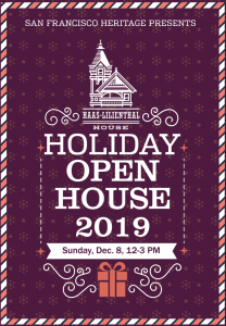 Holiday Open House postcard